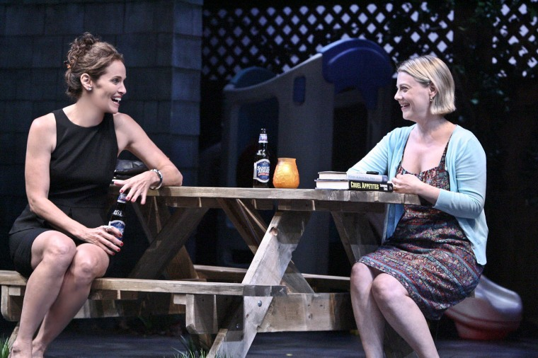 Amy Brenneman and Kellie Overbey in Rapture, Blister, Burn