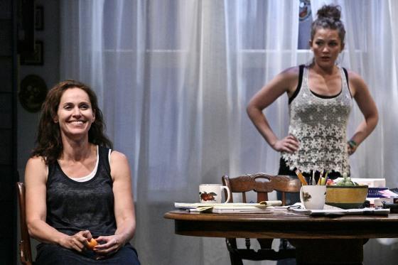 Amy Brenneman and Virginia Kull in Rapture, Blister, Burn