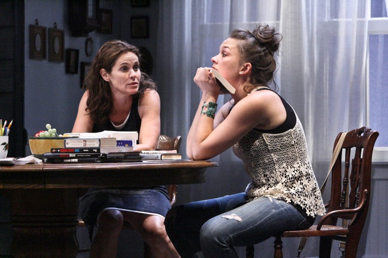 Amy Brenneman and Virginia Kull