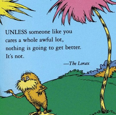 Dr. Seuss' Lorax