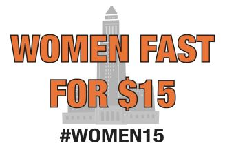 Women Fast for 15