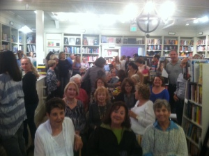 My hometown crowd at Diesel Bookstore