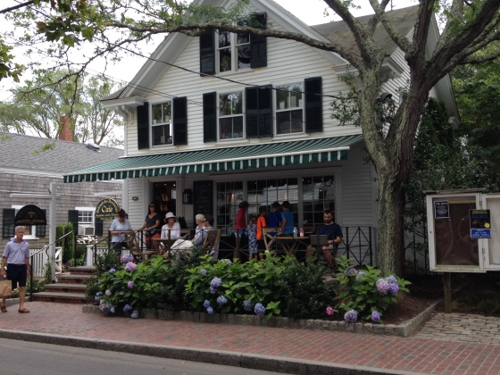 Busy busy Edgartown Books!