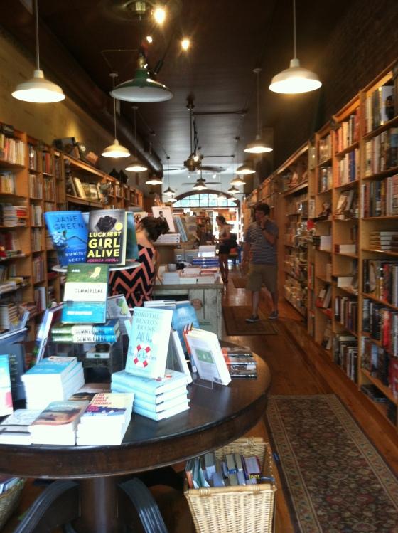 Inside Watchung Books